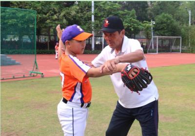 日本棒球名教练为深圳棒球教育打CALL