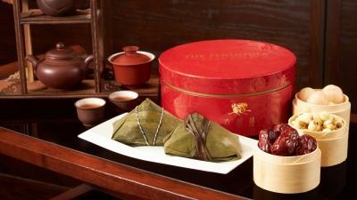 ?香港半岛酒店嘉麟楼呈献精品粽子礼盒贺端阳