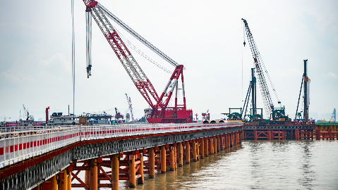 桥面高相当于30层楼!深中通道伶仃洋大桥将成世界最高海中桥