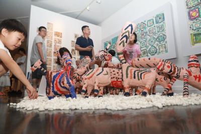 儿童节去哪?深圳第二届当代儿童水墨画作品展了解下!