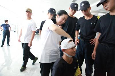 提升應急處置能力,深圳150名輔警上了堂急救培訓課
