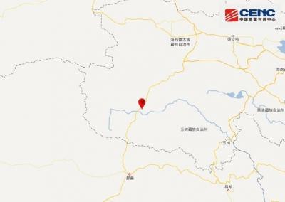 青海玉树州治多县发生4.3级地震,震源深度10千米
