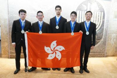 香港队获国际物理奥林匹克5面银牌