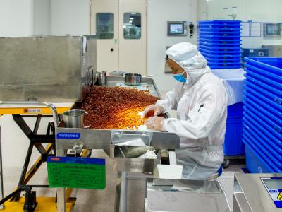 广东省市场监管局突击检查保健食品生产经营