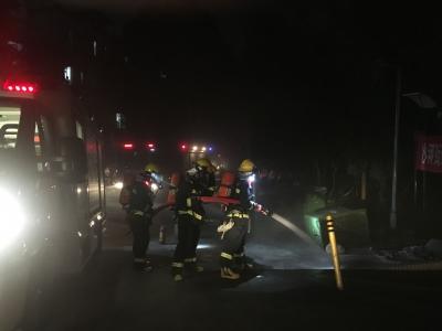 沙河街道开展消防安全应急演练,提升居民消防安全意识