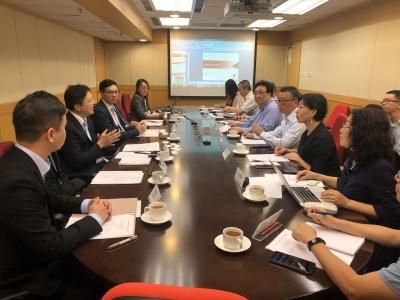 深圳市人大常委会赴港调研推进大湾区生物医药产学研合作