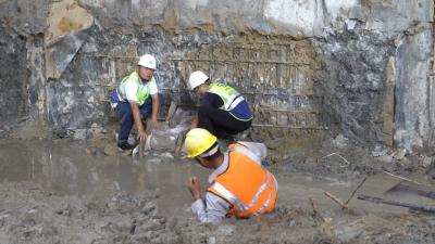前海综合交通枢纽项目施工现场成功举行超深超大基坑专项应急救援演练