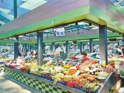 扫码就能知道肉菜来源 深圳353家农贸市场明年全部完成升级改造