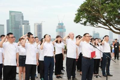 守初心擔使命!賽格集團黨員在蓮花山鄧小平塑像前重溫入黨誓詞