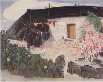 清华获捐吴冠中66件绘画艺术作品