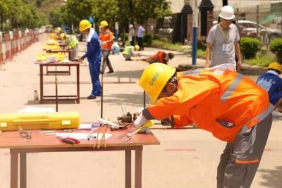 深圳首届建筑业职业技能大赛举行 178名选手参与6大工种项目角逐