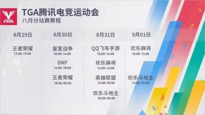 腾讯电竞运动会8月分站赛开赛