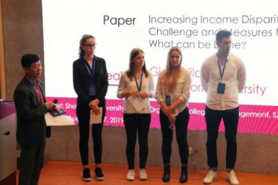六国学生相约鹏城探讨全球经济背景下的挑战和创新