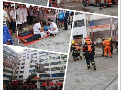 沙头角举行2019年消防应急疏散演练