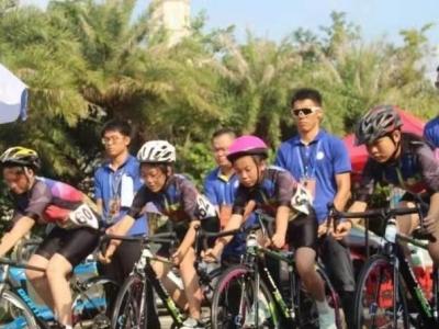 """深圳市""""体彩杯""""少儿自行车竞赛落幕"""