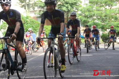 青少年体育自行车举行公益培训