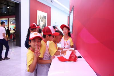 龙城工会举办亲情关爱成长营 40多名来深建设者子女开心过暑假