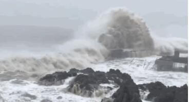 """台风""""利奇马""""已致山东165万人受灾 5人死亡7人失踪"""