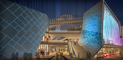 城市更新项目灯光工程点缀龙岗夜色