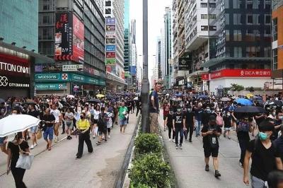 香港自6月9日起共748人被捕 177名警员受伤