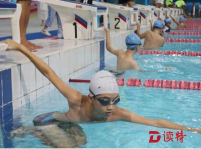 龙岗区举行第四届游泳达标赛 1500余名爱好者参加