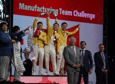 厉害了!广东选手在第45届世界技能大赛中金牌数占中国代表团一半