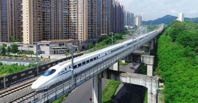 时速350km!龙岗到汕尾或将再添一条新高铁了!