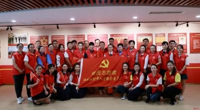 深圳市人才联合党委党员志愿者诗文朗诵庆国庆