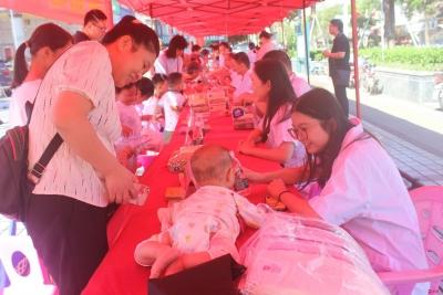 """坪山区医疗健康集团举行""""喜迎国庆、健康坪山""""大型联合义诊活动"""