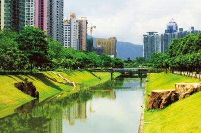 """福田街道精细化管理 打造""""天蓝、地绿、水美、洁净""""中心城区"""
