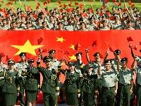 向祖国表白,与国旗同框