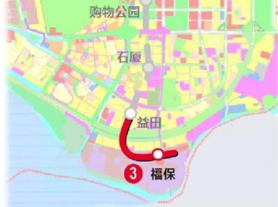 深圳地铁3号线南延线的消息来了!下个月底实现双线贯通