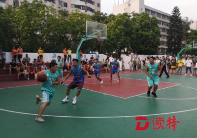 """丰富社区文化生活!首届""""鹤洲杯""""三人篮球赛圆满落幕"""
