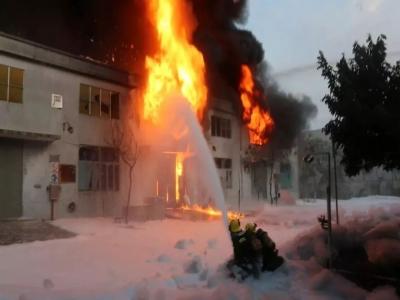"""广东省应急管理厅关于肇庆市居都化学工业有限公司""""8·31""""火灾事故的通报!"""