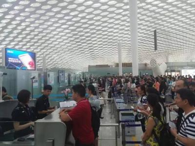 即日起深圳机场安保等级提升,乘机请至少提前2小时到达机场