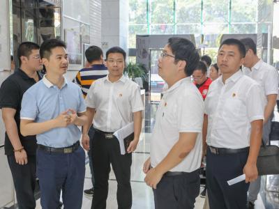 龍城街道大興調研之風 一個月內走訪轄區企業近40家