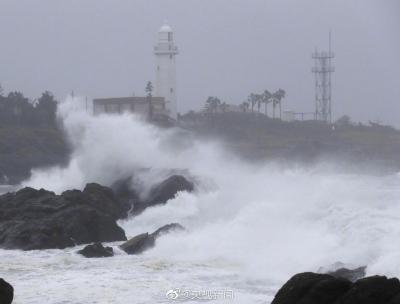 """強臺風""""海貝思""""吹襲日本已造成21人死亡 核輻射垃圾被沖入河中"""