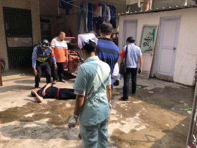 寶安區松崗街道網格員及時救助2名急性發作病人