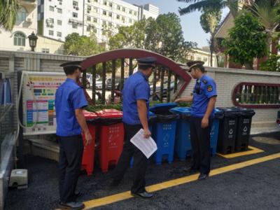 航城街道开展垃圾收集点专项执法行动