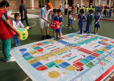 """福海街道開展""""步行巴士""""兒童交通安全體驗營活動"""