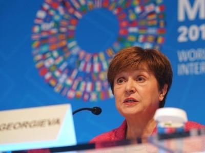 IMF总裁对中美经贸磋商进展感到鼓舞