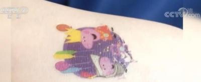 兒童紋身貼重金屬超標,商家:沒事,反正也不吃