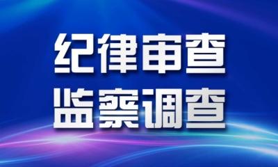 中山翠亨新区管委会主任贺晖接受纪律审查和监察调查