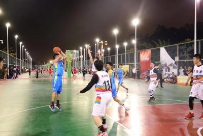 38支球队,486位参赛队员!罗湖区业余篮球赛全新启航