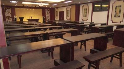 福海舉辦讀書月活動之國學堂講座進學校活動