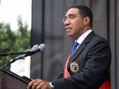 牙买加总理安德鲁·霍尔尼斯今日访深