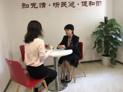党代表接待活动 | 赖燕青代表听您说
