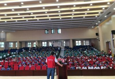 坪山区义工联举办学生义工培训,培养义工新生代!