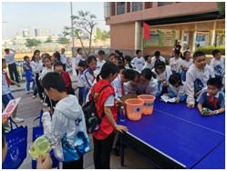 馬田街道為馬山頭學校300名學生上了一場禁毒知識講座