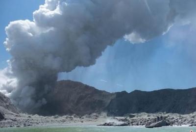 新西蘭火山噴發或有中國公民受傷,中使館啟動應急機制